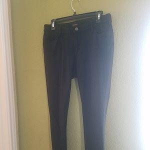 Ann Taylor skinny pants black size 8